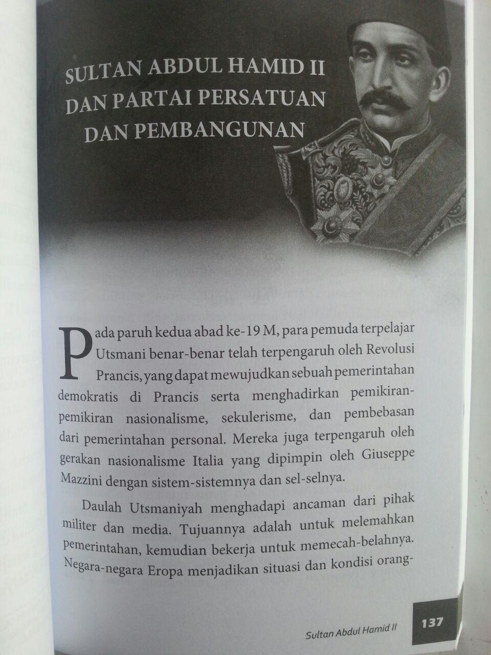 Buku Sultan Abdul Hamid II The Last Khalifa isi 3