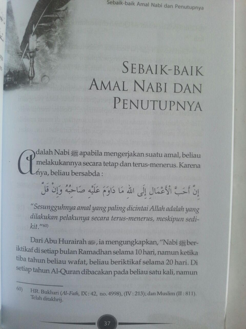 Buku Wasiat Akhir Nabi Terakhir Peristiwa Penting Seputar Wafat Nabi isi 3