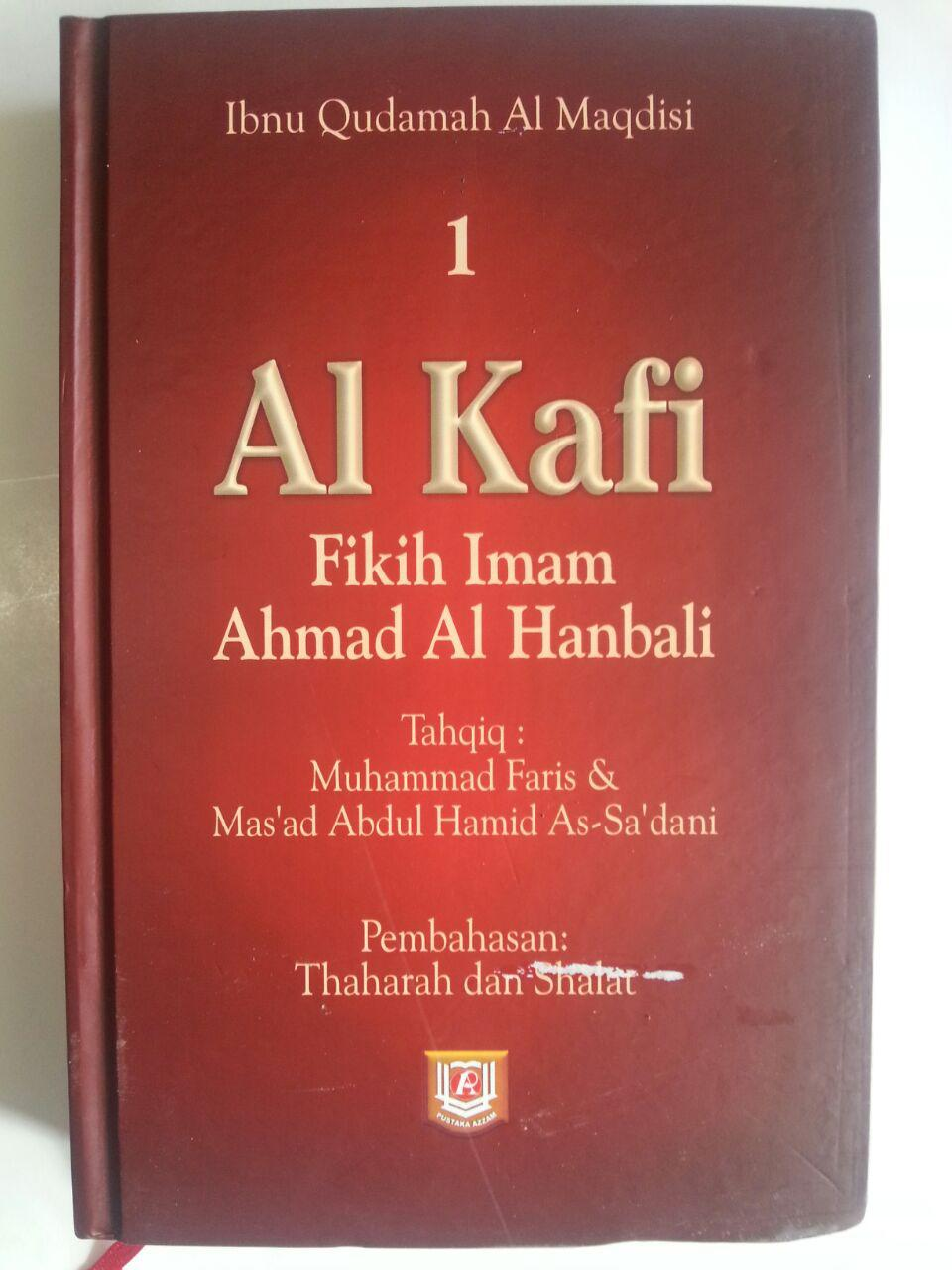 Buku Al Kafi Fikih Imam Ahmad Al Hanbali Jilid 1 cover 2