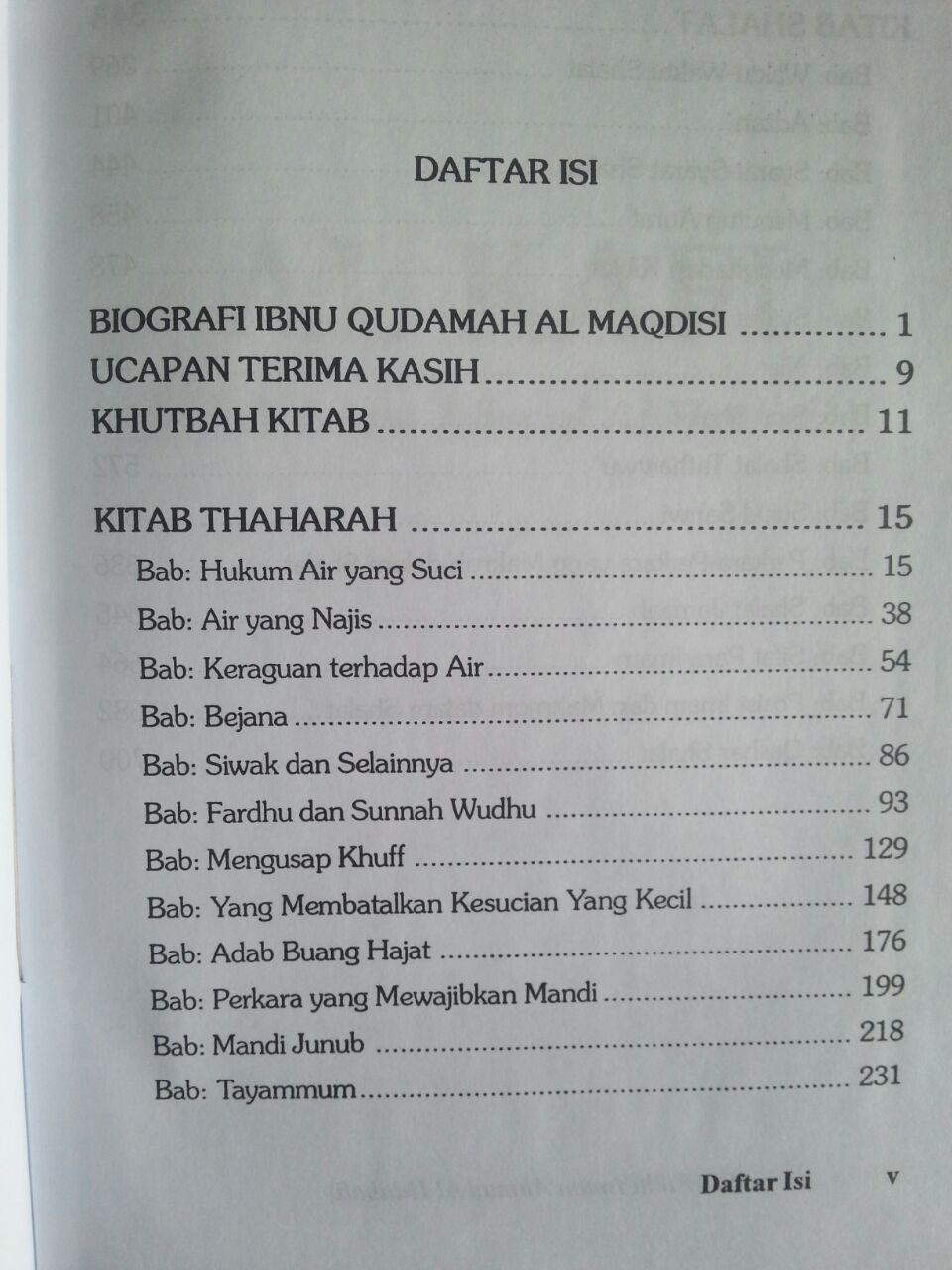 Buku Al Kafi Fikih Imam Ahmad Al Hanbali Jilid 1 isi 2