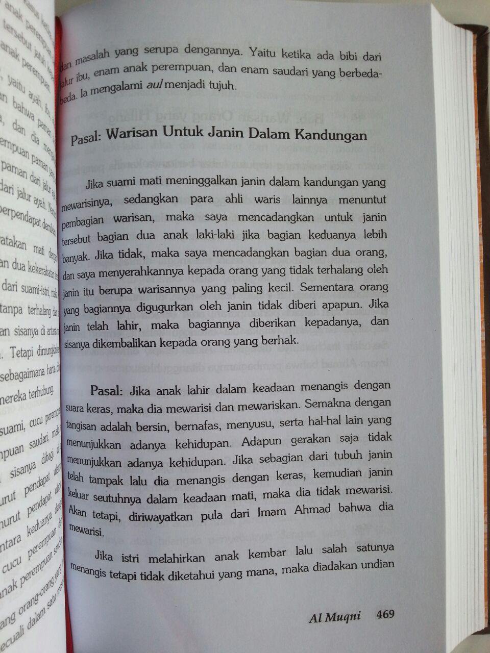Buku Al-Muqni' Ibnu Qudamah Jilid 1 isi 4