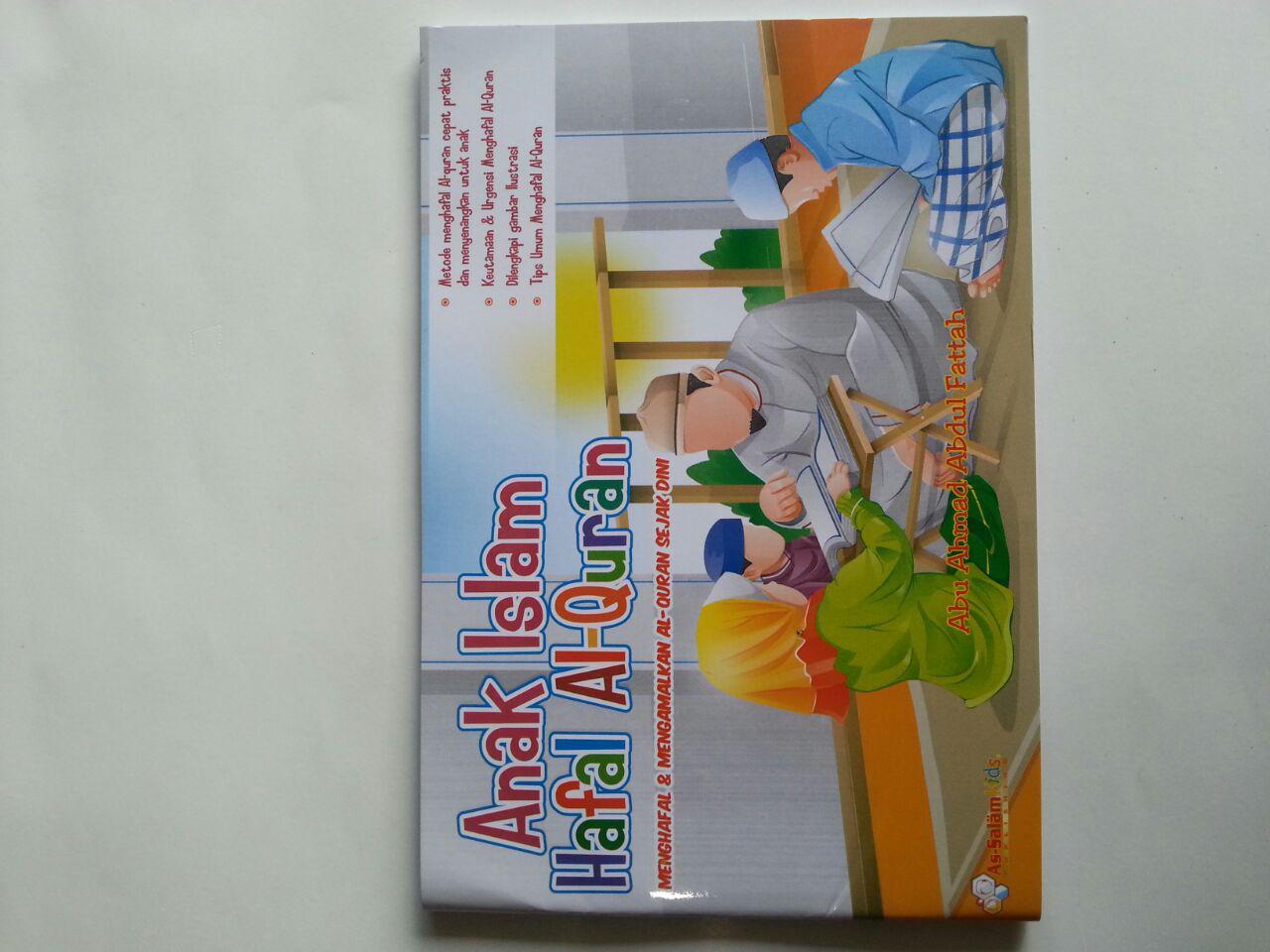 Buku Anak Islam Hafal Al-Quran Sejak Dini cover 2