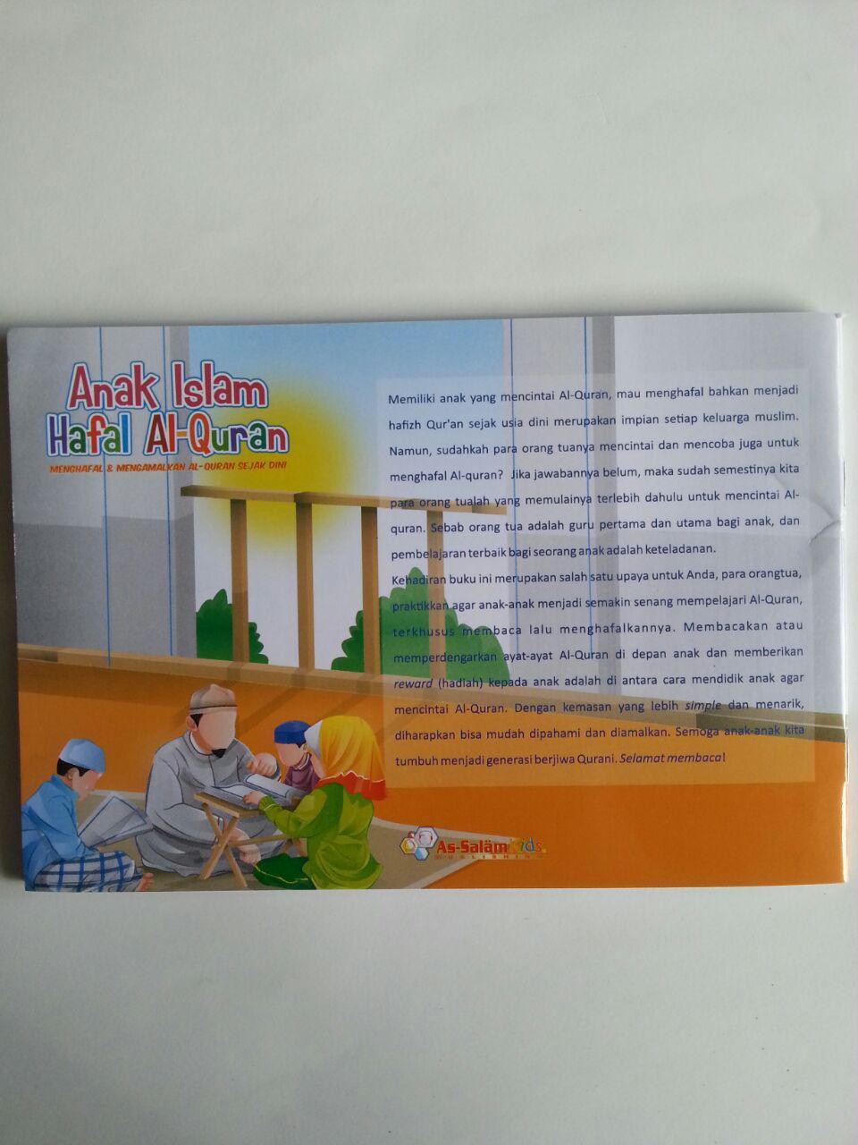 Buku Anak Islam Hafal Al-Quran Sejak Dini cover