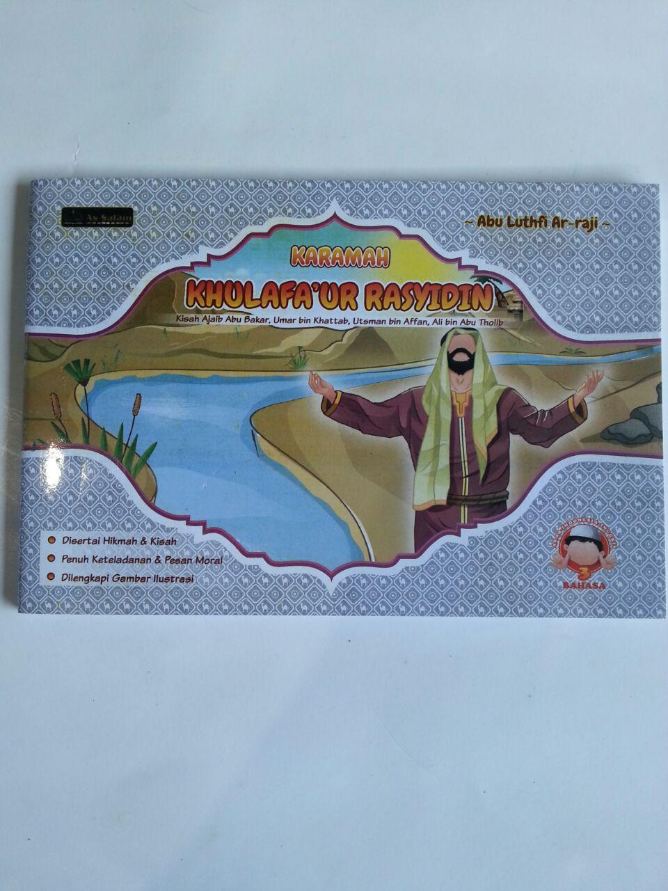 Buku Anak Karamah Khulafa'ur Rasyidin Kisah-Kisah Ajaib cover 2