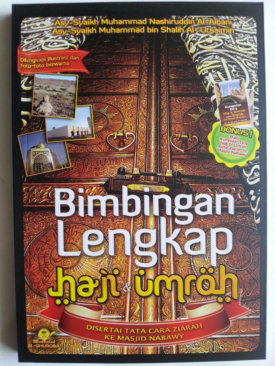 Buku Bimbingan Lengkap Haji Dan Umroh Ziarah Masjid Nabawy cover 3
