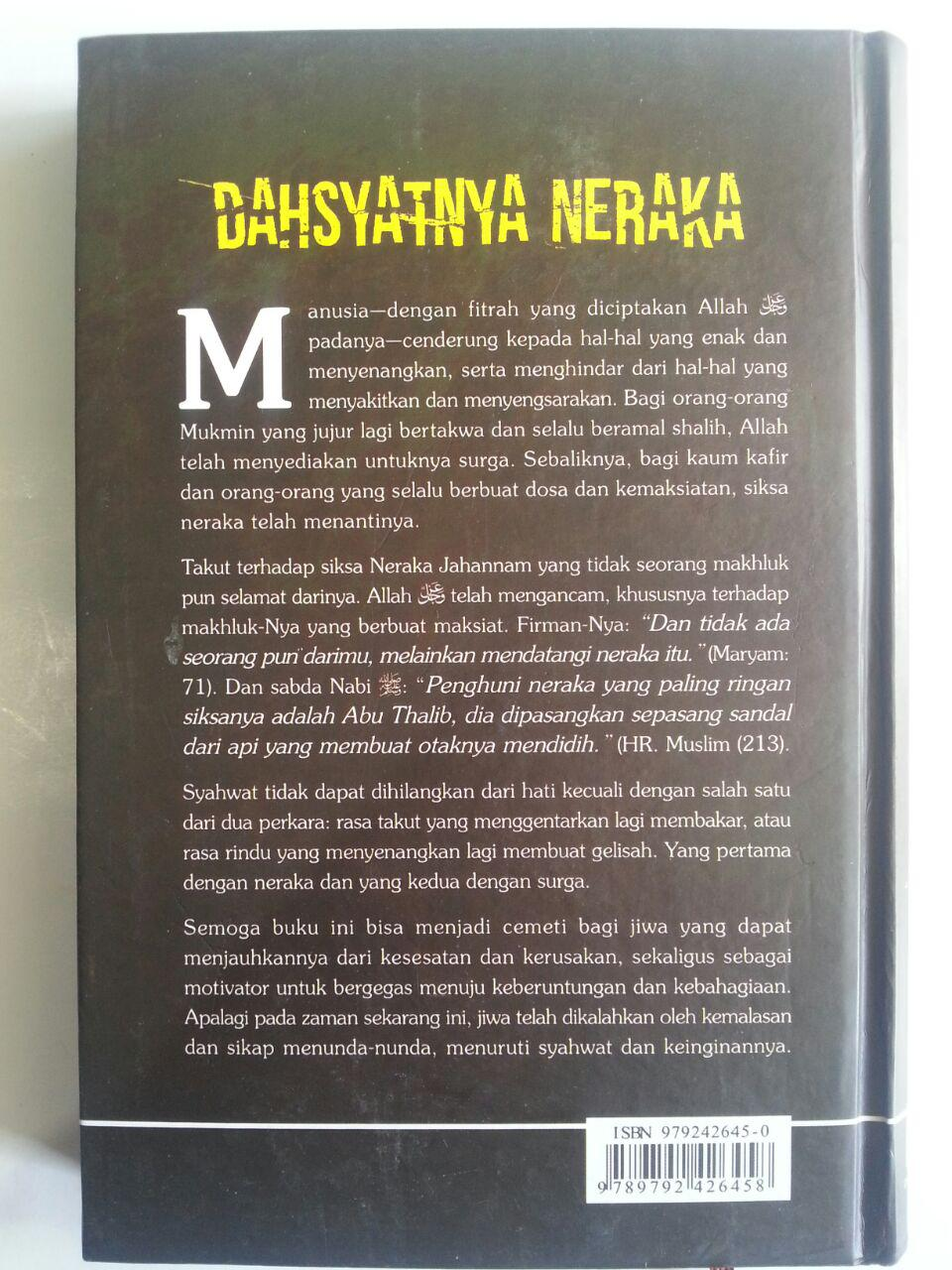 Buku Dahsyatnya Neraka isi cover