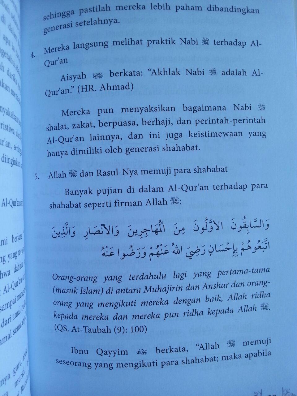 Buku Hakikat Dan Fadhilah Tadabbur Al-Qur'an isi 3
