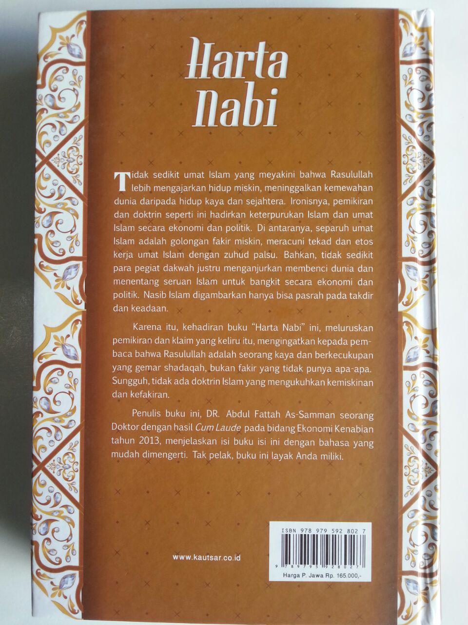 Buku Harta Nabi Sumber Pembelanjaan Dan Wakaf cover