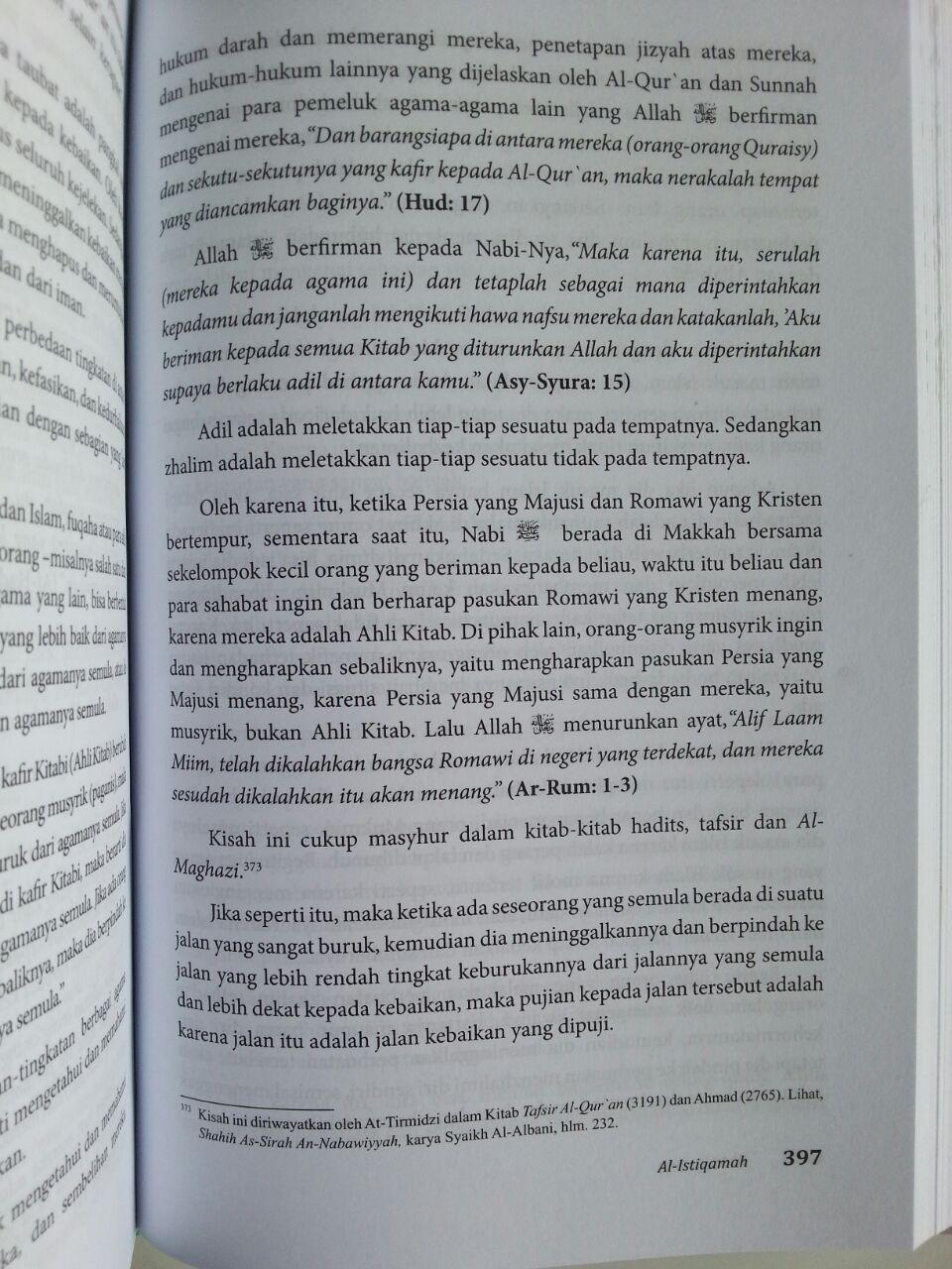 Buku Istiqamah Pelajaran Akidah Ibadah Dan Tasawuf isi 3