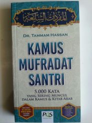 Buku Kamus Mufradat Santri 5000 Kata Yang Sering Muncul cover 2