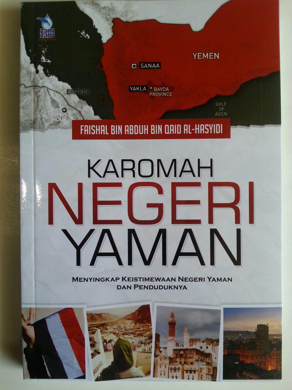 Buku Karomah Negeri Yaman Keistimewaan Yaman Dan Penduduknya cover 2