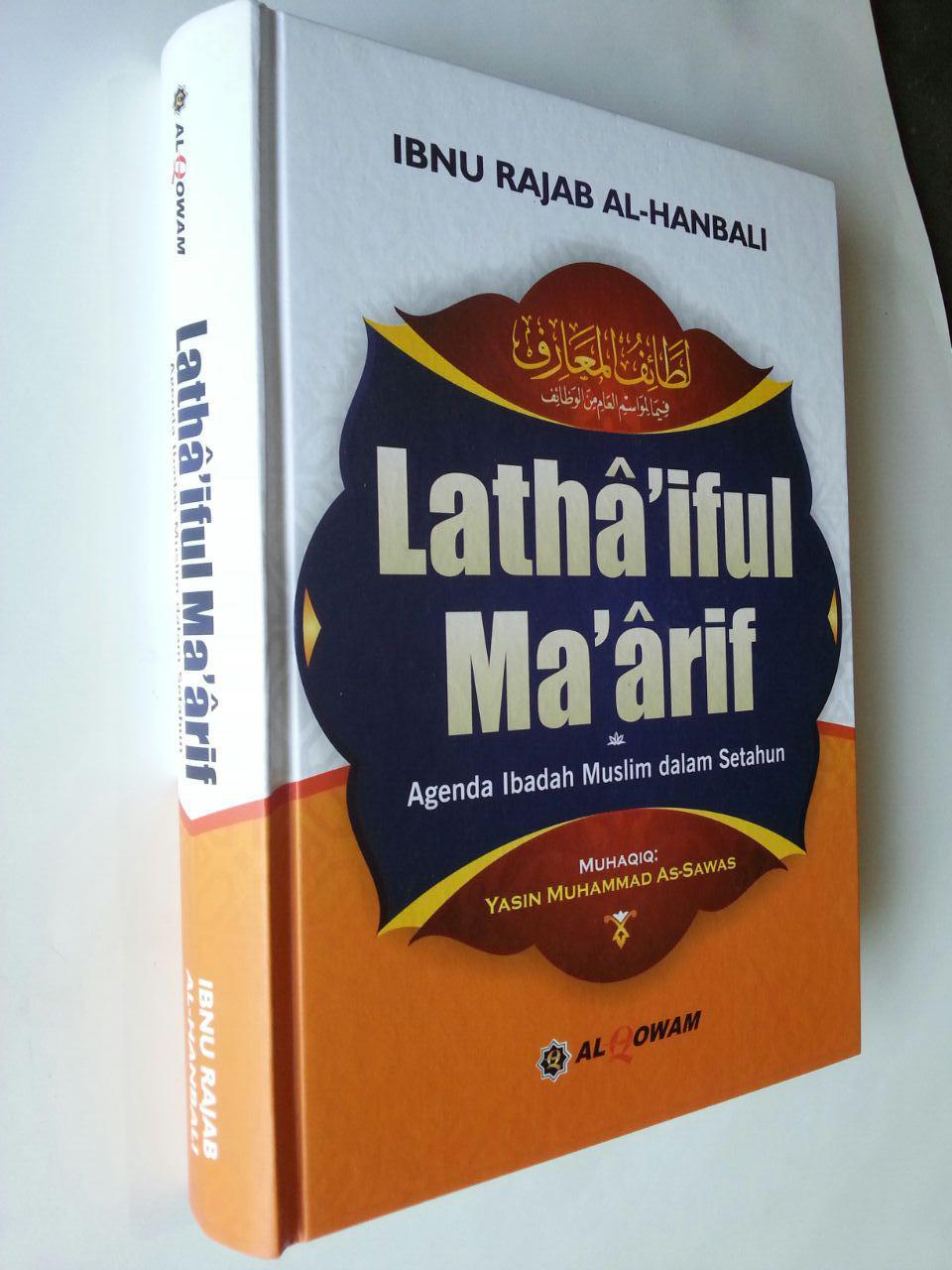 Buku Lathaiful Maarif Agenda Ibadah Muslim Dalam Setahun cover 2