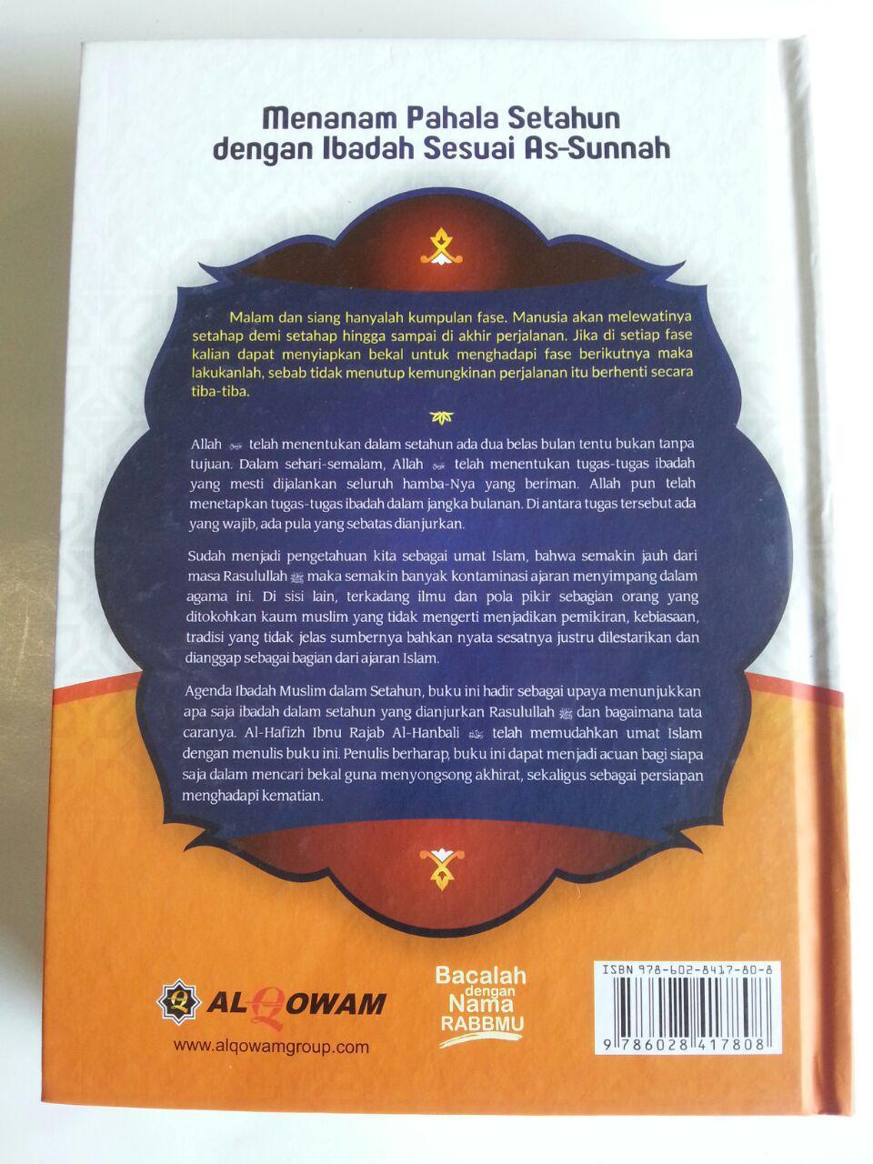 Buku Lathaiful Maarif Agenda Ibadah Muslim Dalam Setahun cover