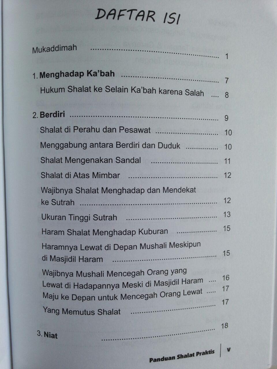 Buku Panduan Shalat Praktis Disertai Gambar Syaikh Albani isi 2
