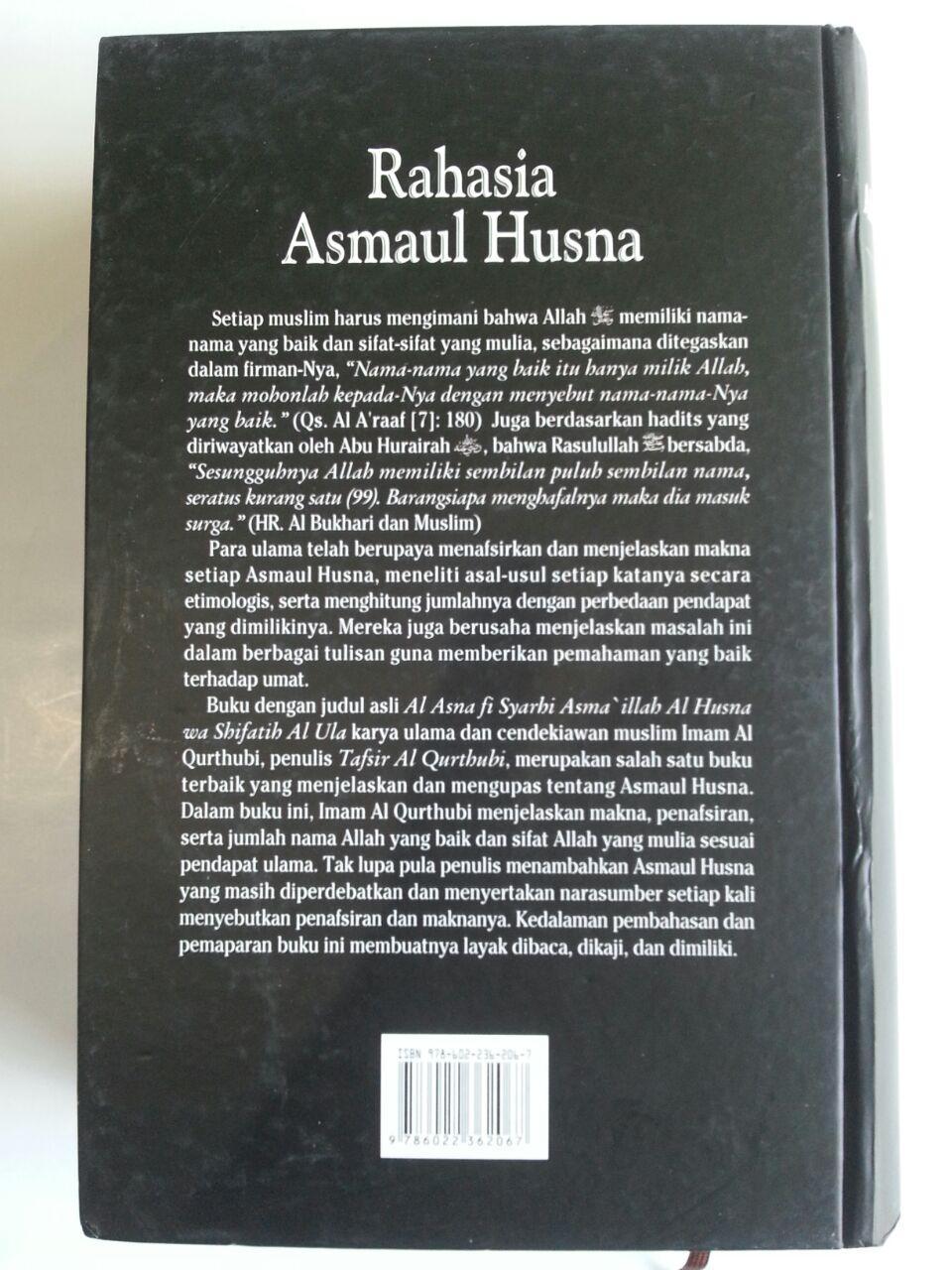 Buku Rahasia Asmaul Husna cover