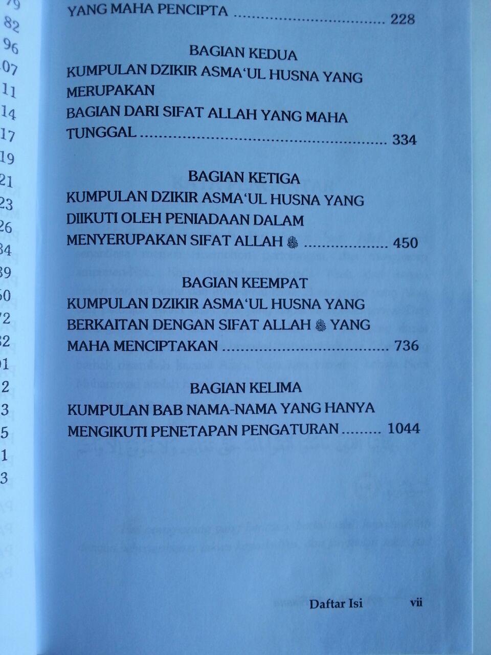 Buku Rahasia Asmaul Husna isi 2
