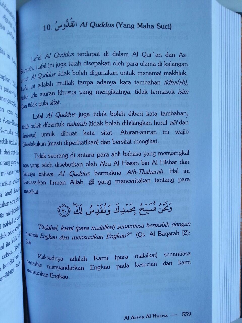 Buku Rahasia Asmaul Husna isi 3