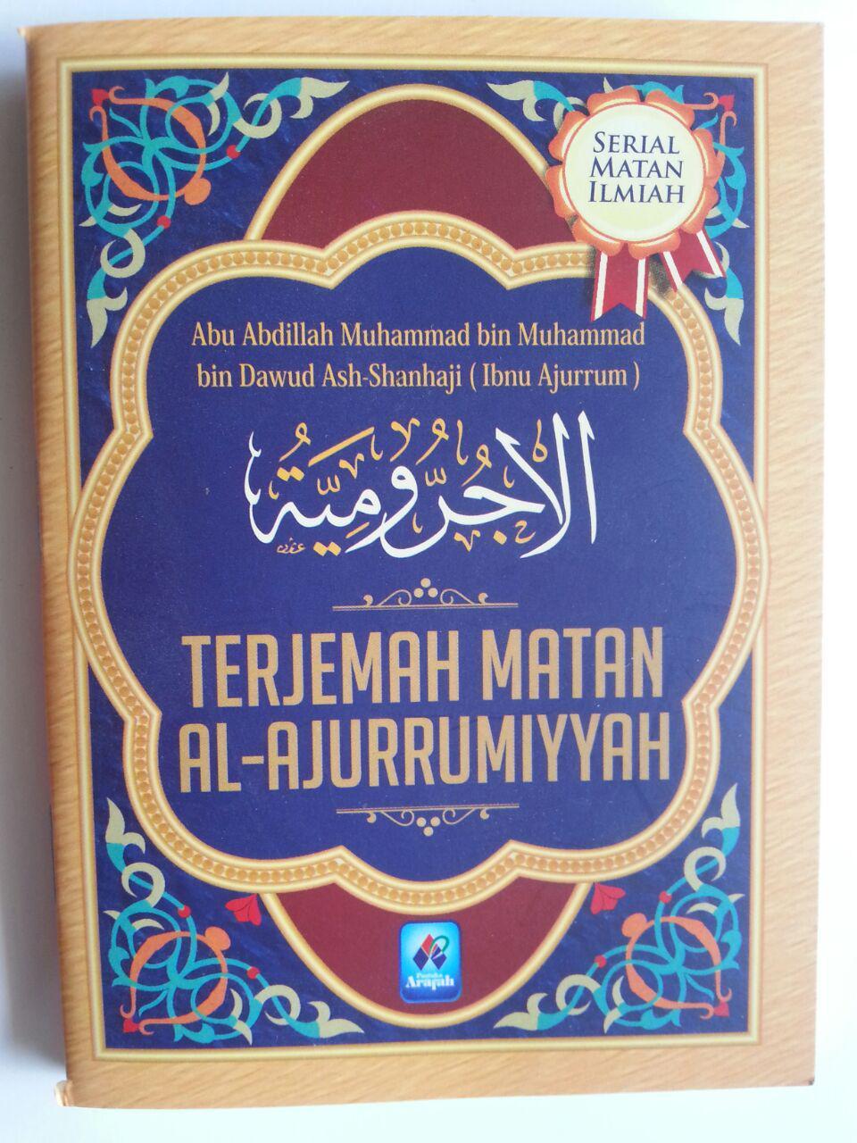 Buku Saku Terjemah Matan Al-Ajurrumiyyah cover 2