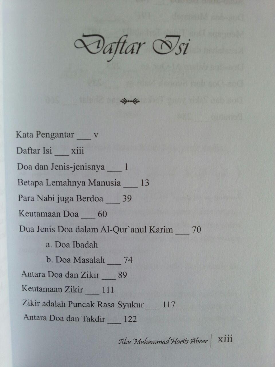 Buku Senandung Doa isi 2