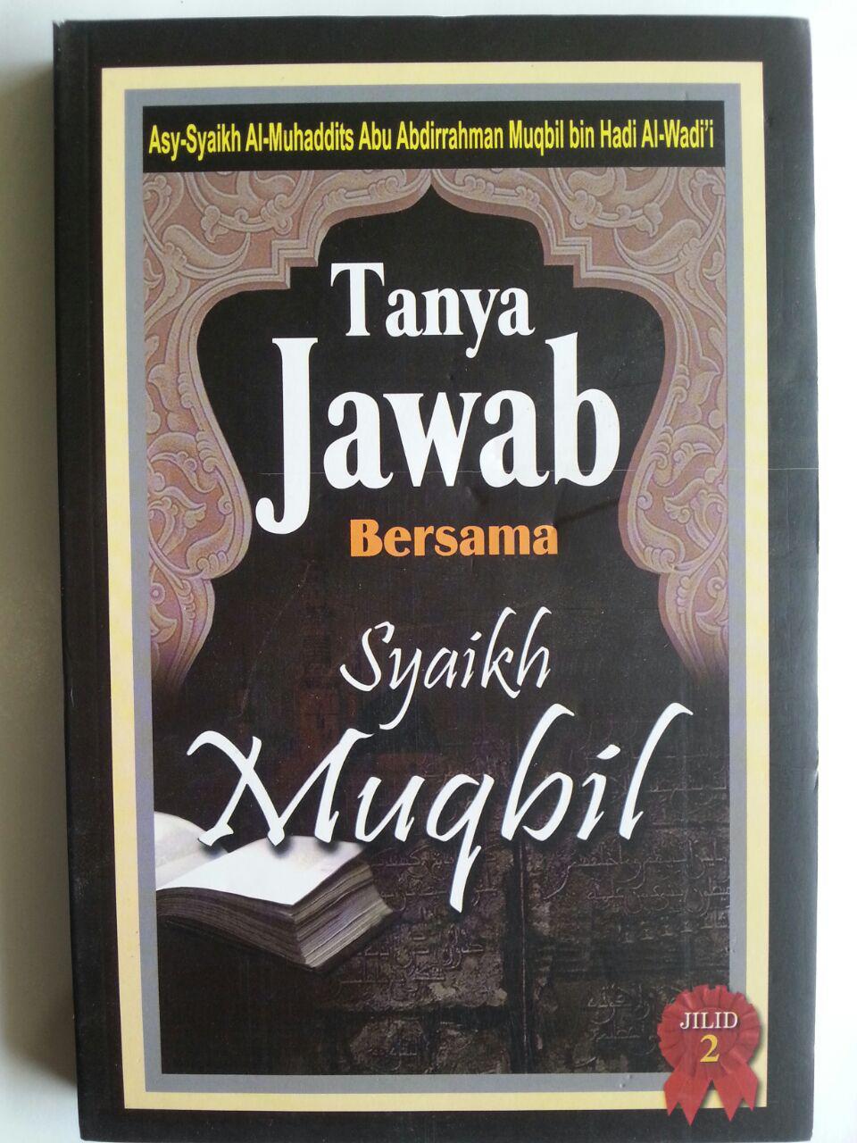 Buku Tanya Jawab Bersama Syaikh Muqbil Set 2 Jilid cover 2