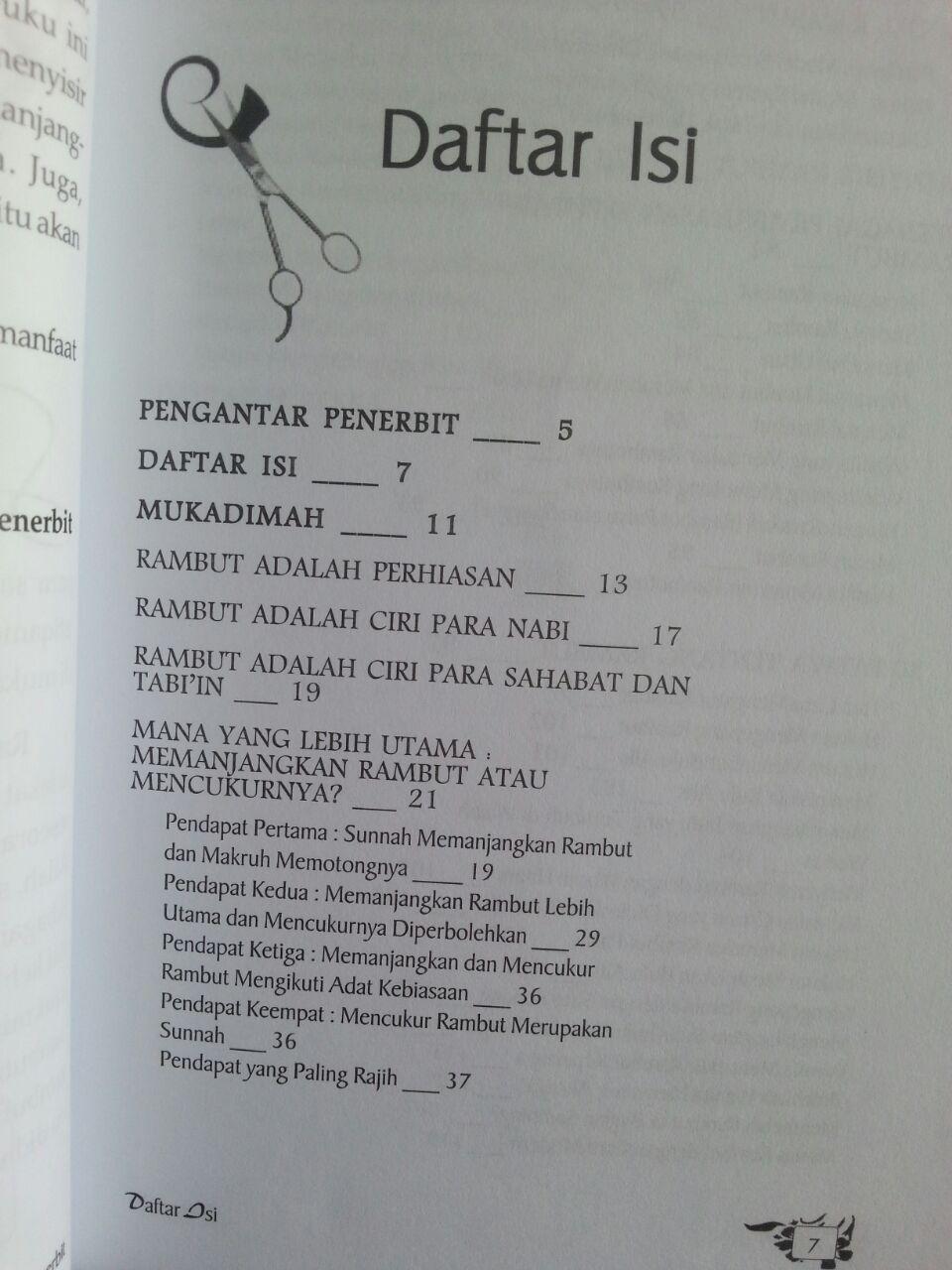 Buku Tata Rias Rambut Cara Islam isi 2