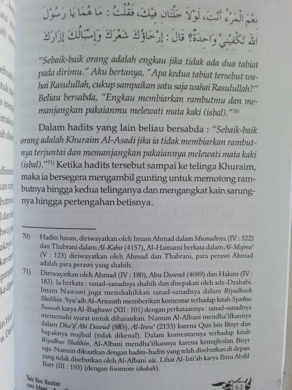 Buku Tata Rias Rambut Cara Islam isi 3