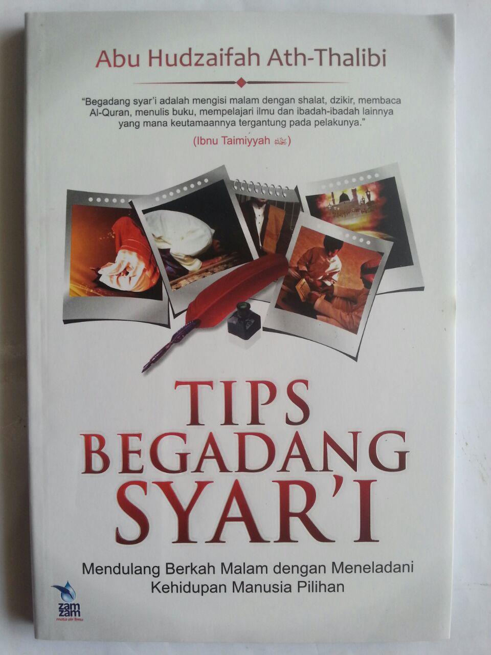 Buku Tips Begadang Syar'I Mendulang Berkah Malam cover 2