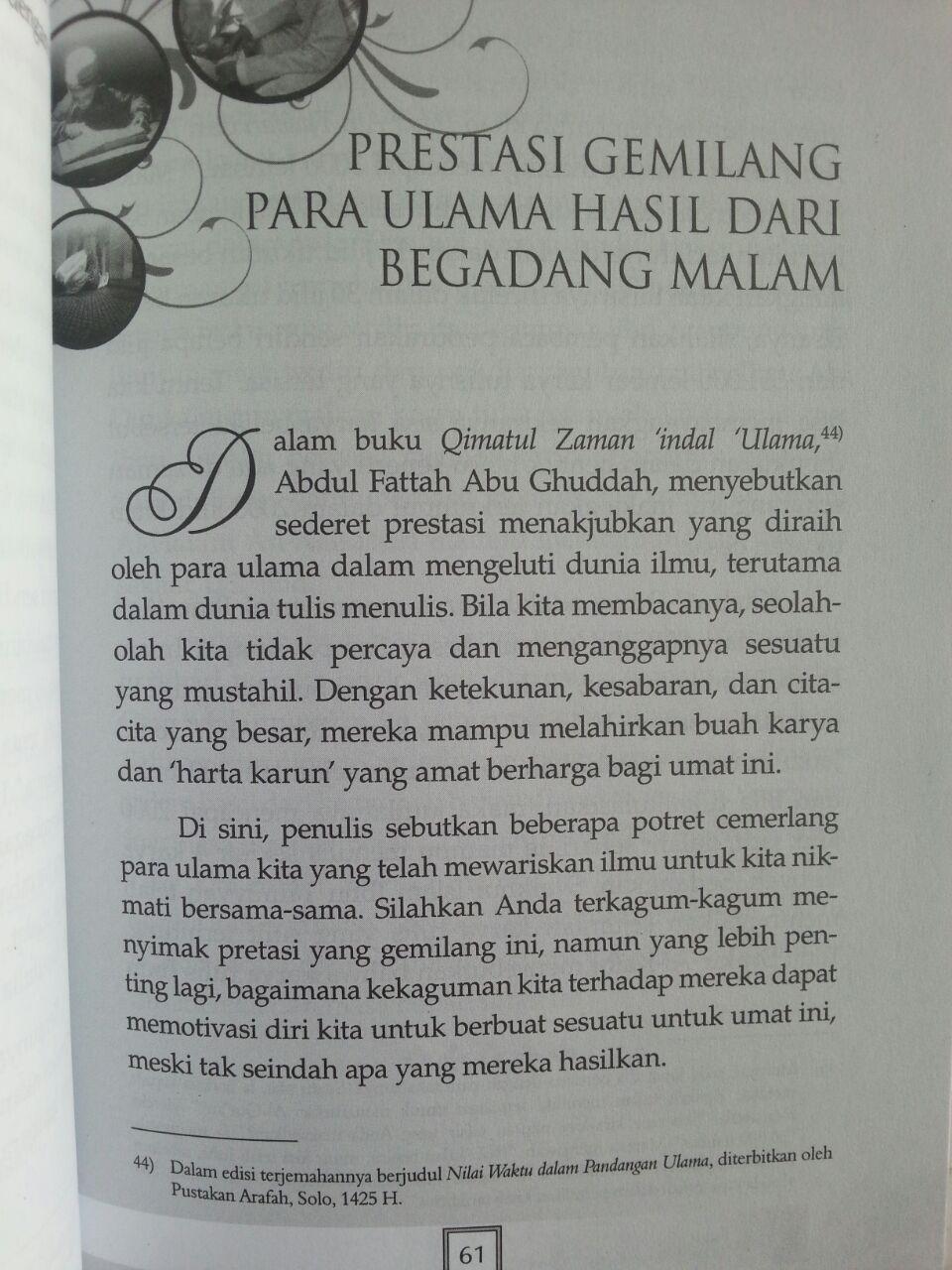 Buku Tips Begadang Syar'I Mendulang Berkah Malam isi 3