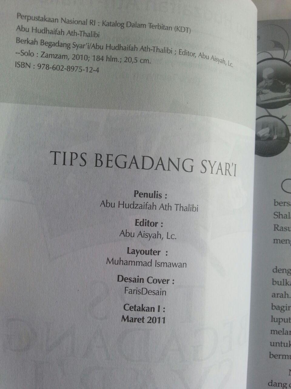 Buku Tips Begadang Syar'I Mendulang Berkah Malam isi
