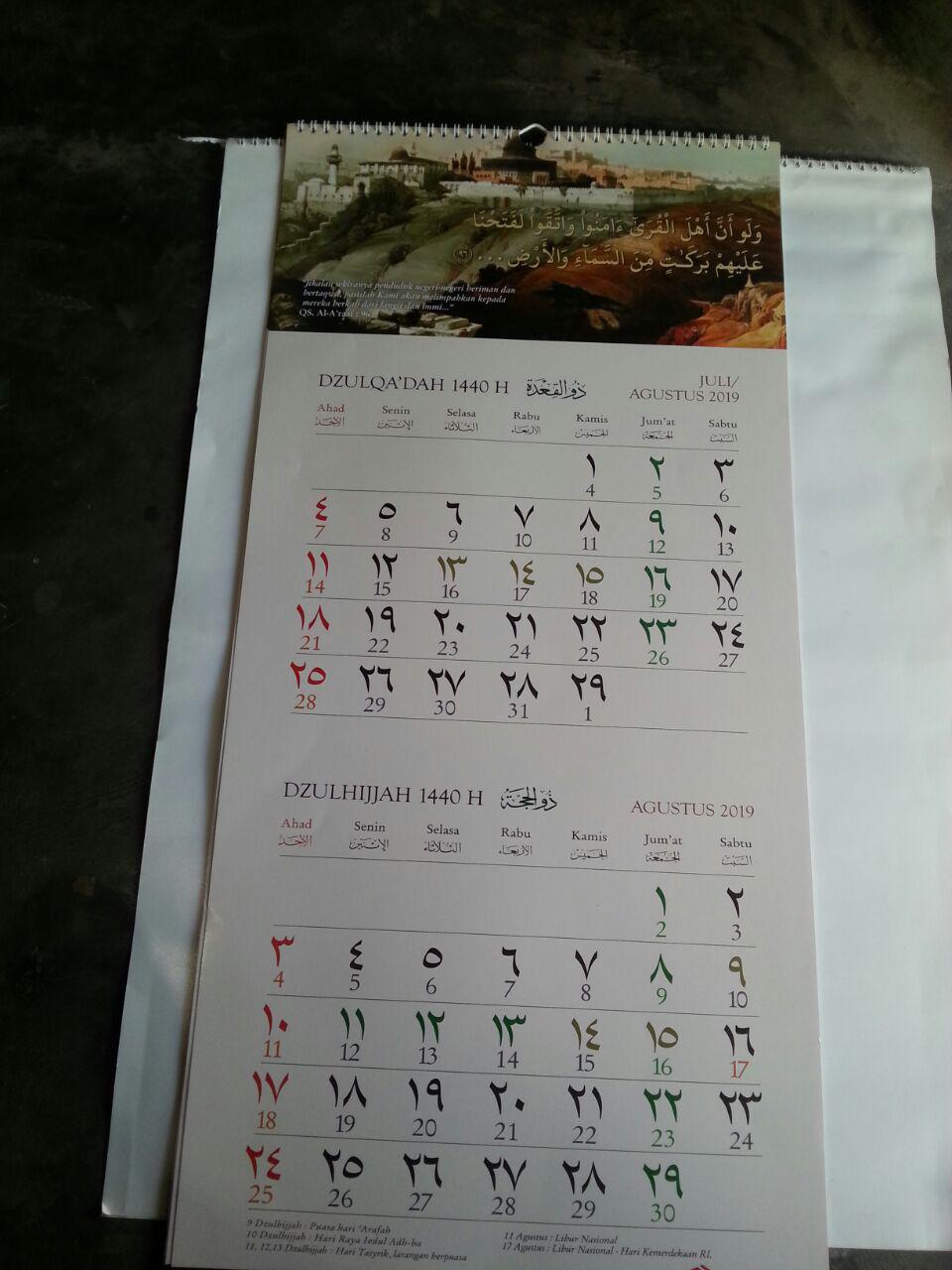 PM007 Kalender Hijriyyah Ibnu Umar isi 2