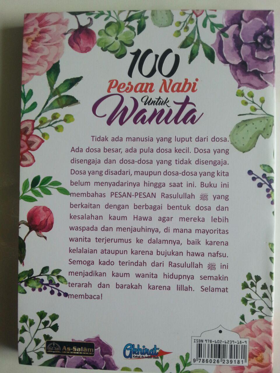 Buku 100 Pesan Nabi Untuk Wanita cover
