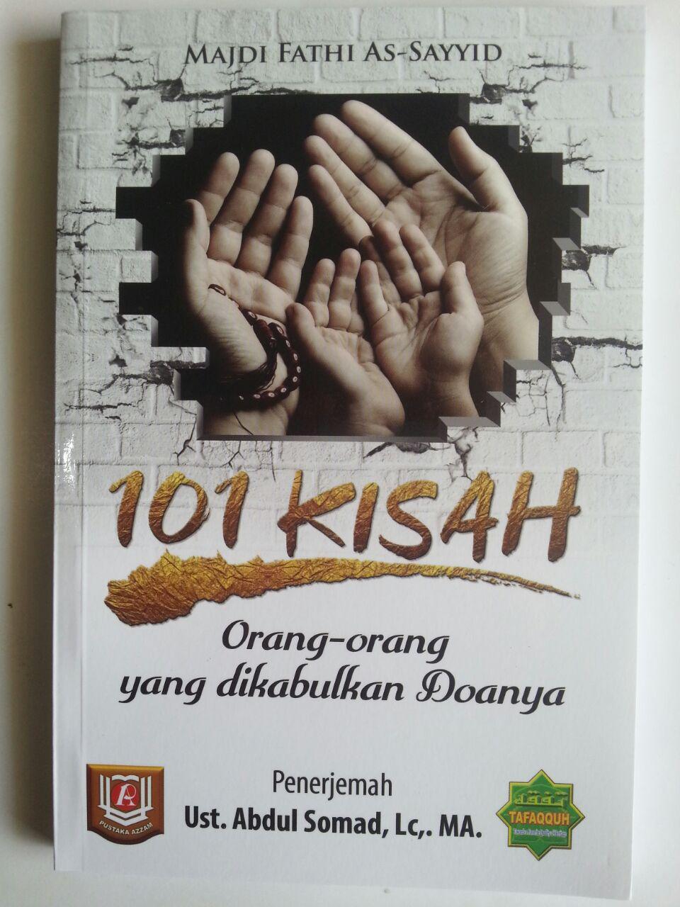 Buku 101 Kisah Orang-Orang Yang Dikabulkan Doanya cover 2
