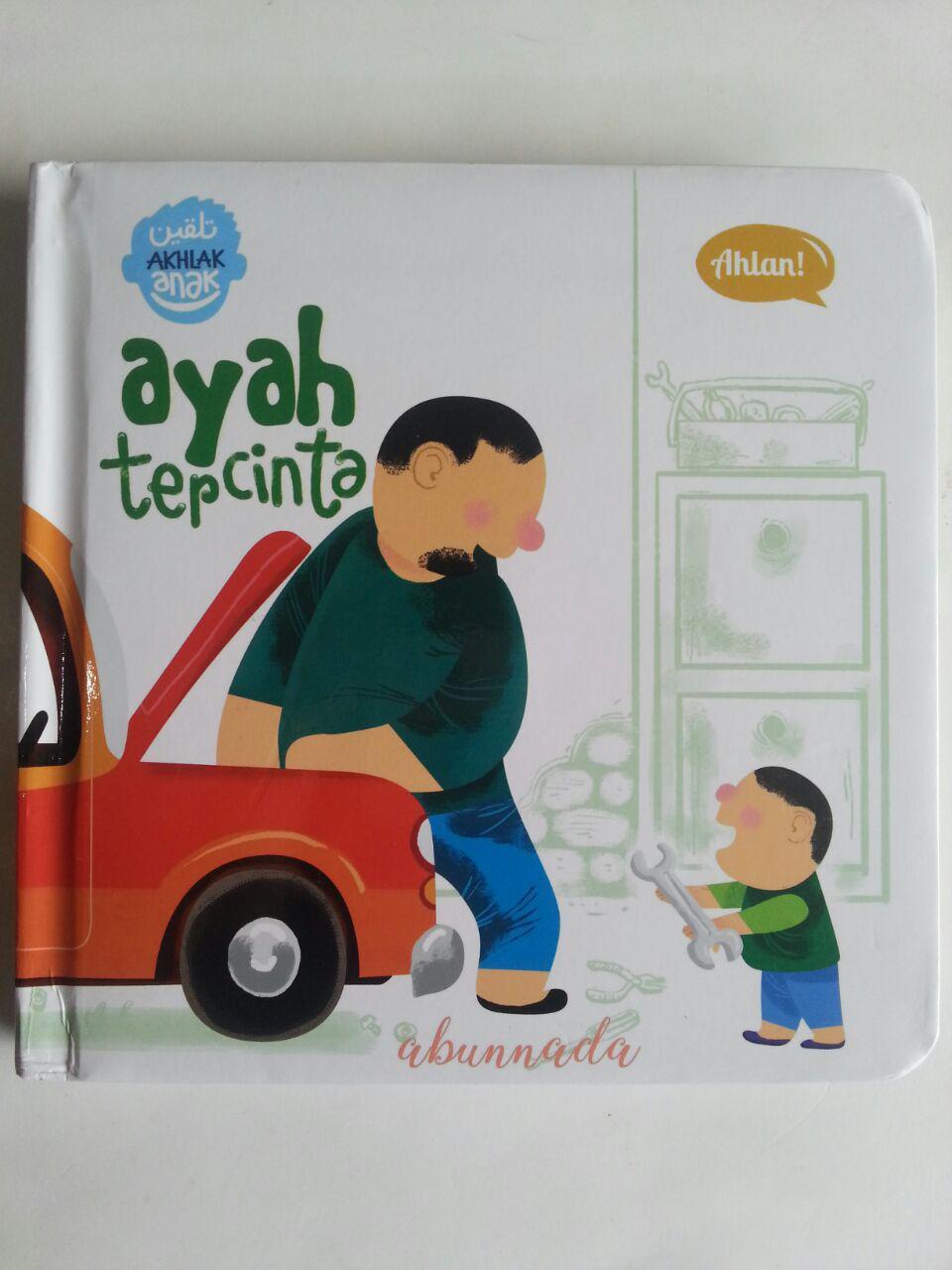 Buku Anak Talqin Akhlak Anak Ayah Tercinta cover 2