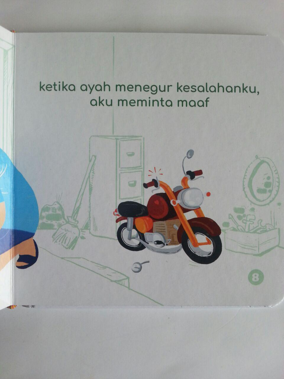 Buku Anak Talqin Akhlak Anak Ayah Tercinta isi 2