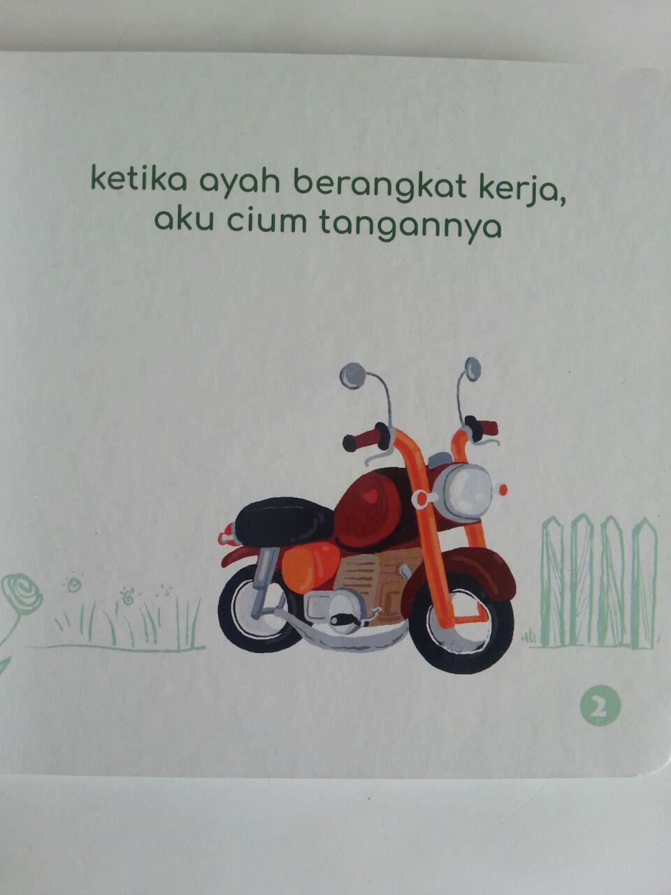 Buku Anak Talqin Akhlak Anak Ayah Tercinta isi