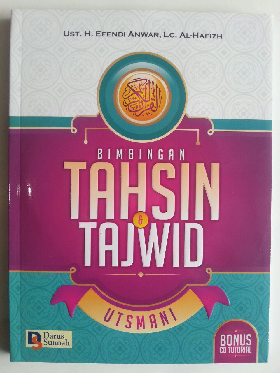 Buku Bimbingan Tahsin Dan Tajwid Utsmani cover 2