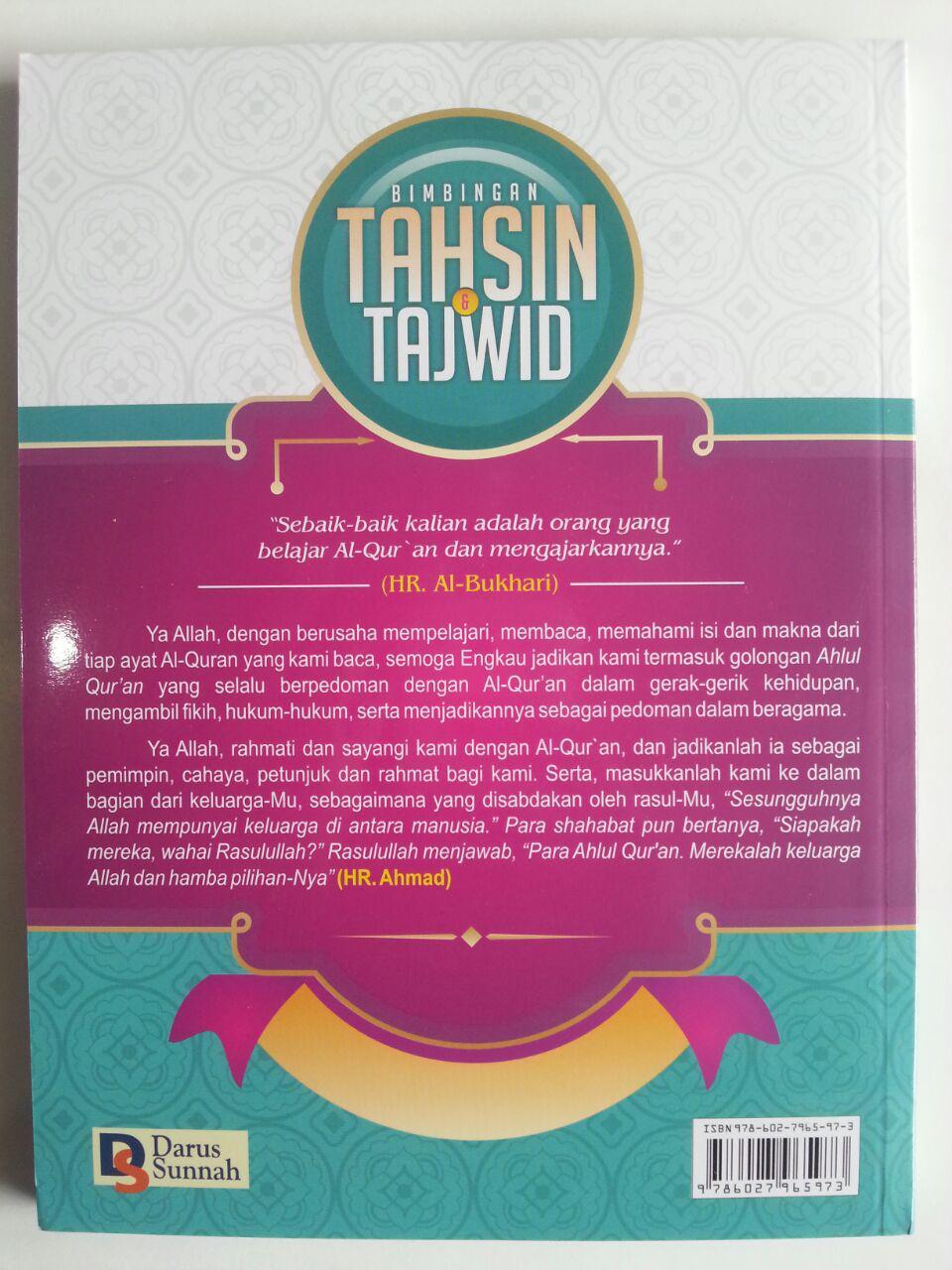 Buku Bimbingan Tahsin Dan Tajwid Utsmani cover