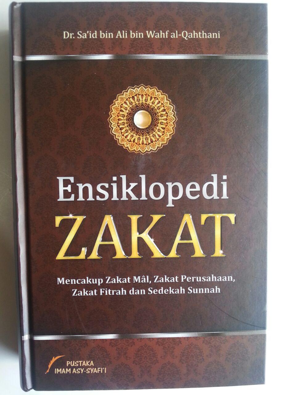 Buku Ensiklopedi Zakat Mencakup Zakat Mal Perusahaan Fitrah cover 2
