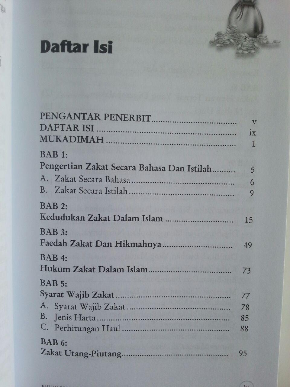 Buku Ensiklopedi Zakat Mencakup Zakat Mal Perusahaan Fitrah isi 2