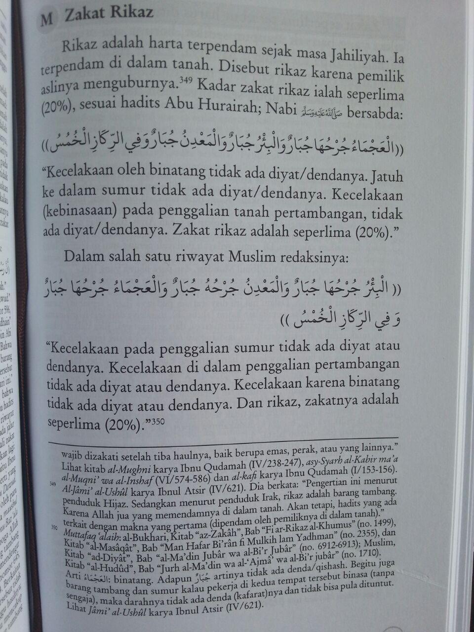 Buku Ensiklopedi Zakat Mencakup Zakat Mal Perusahaan Fitrah isi 3