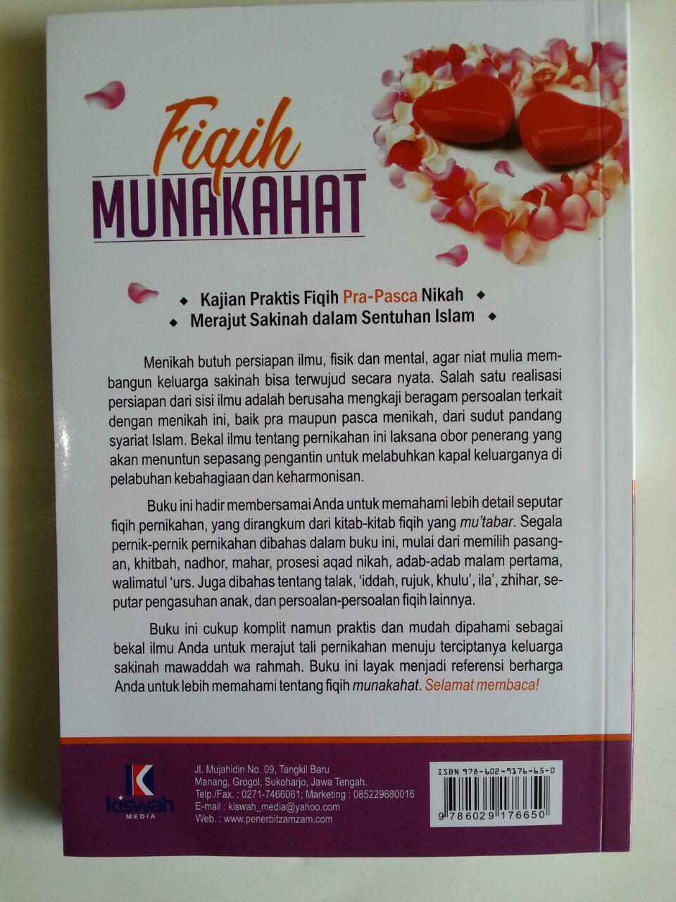 Buku Fiqih Munakahat Kajian Praktis Fiqih Pra Pasca Nikah cover