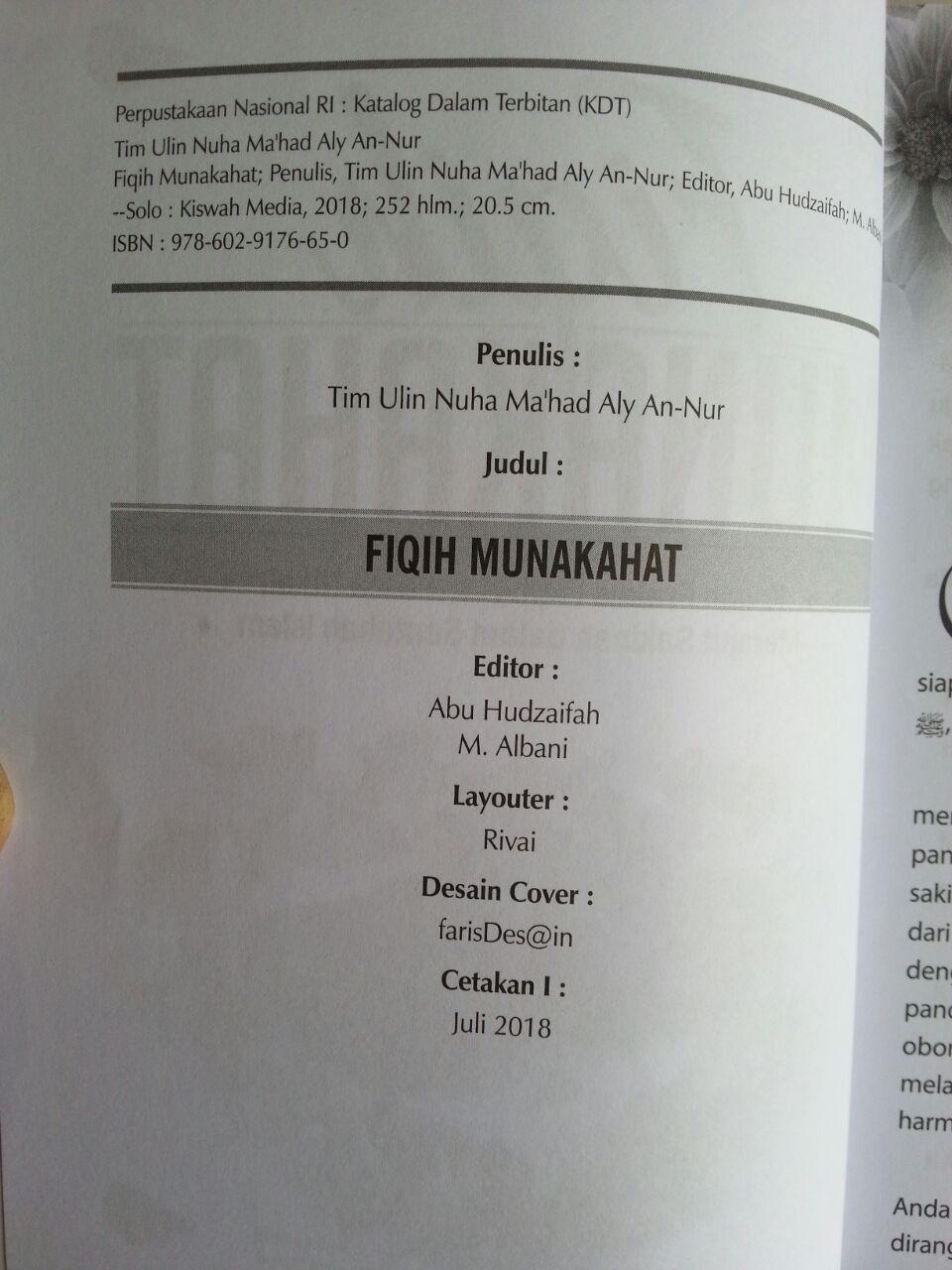 Buku Fiqih Munakahat Kajian Praktis Fiqih Pra Pasca Nikah isi 2