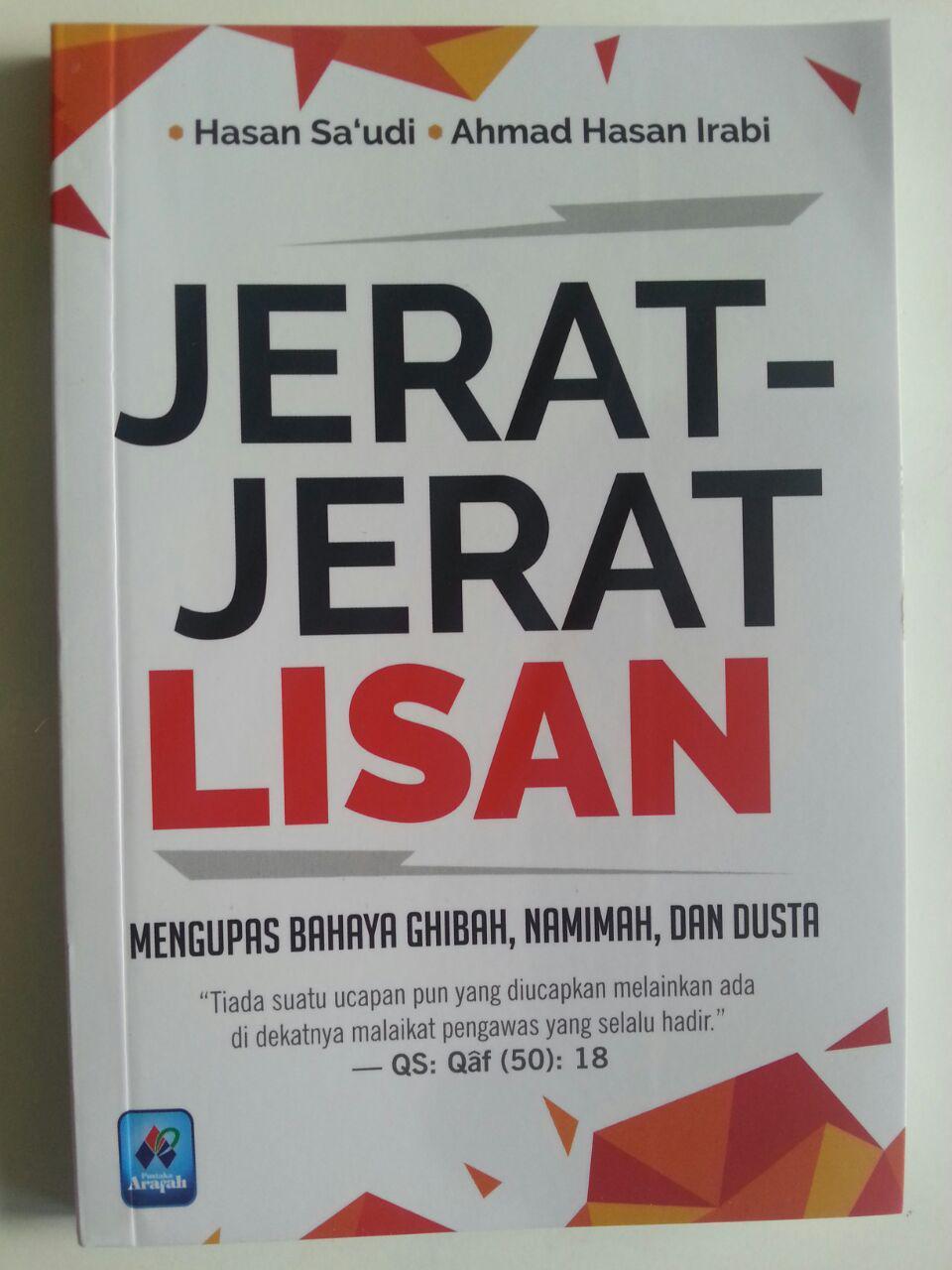 Buku Jerat-Jerat Lisan Lisan Mengupas Bahaya Ghibah Namimah cover 2