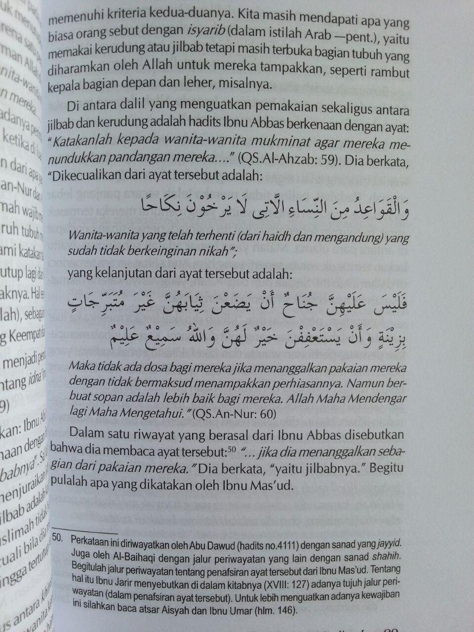 Buku Jilbab Wanita Muslimah isi 3