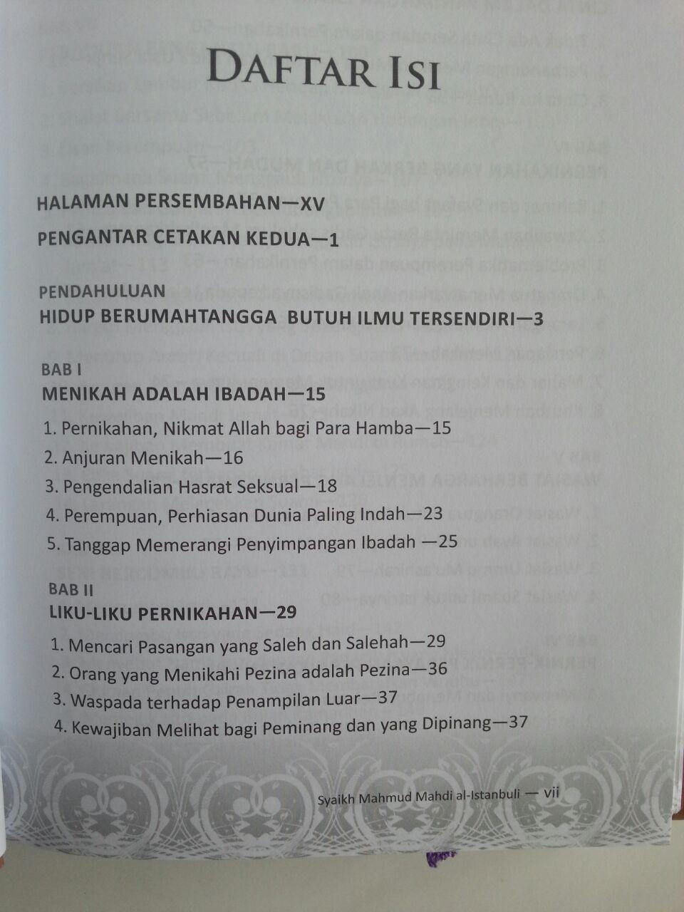 Buku Kado Perkawinan Tuntunan Mempersiapkan Pernikahan Islami isi 2