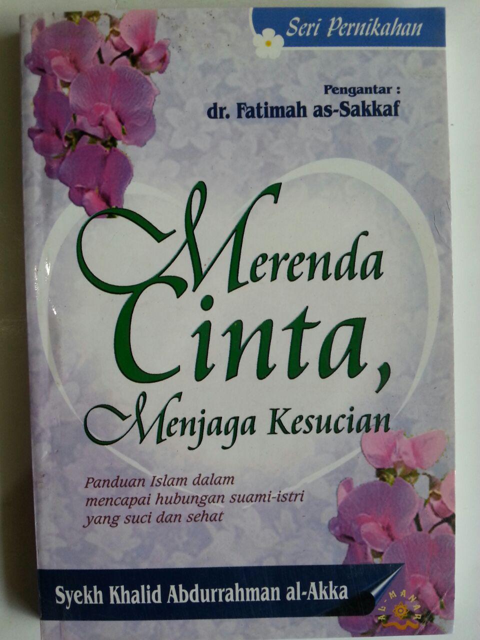 Buku Merenda Cinta Menjaga Kesucian Panduan Suami Istri cover 2