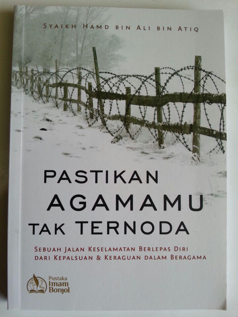 Buku Pastikan Agamamu Tak Ternoda cover 2