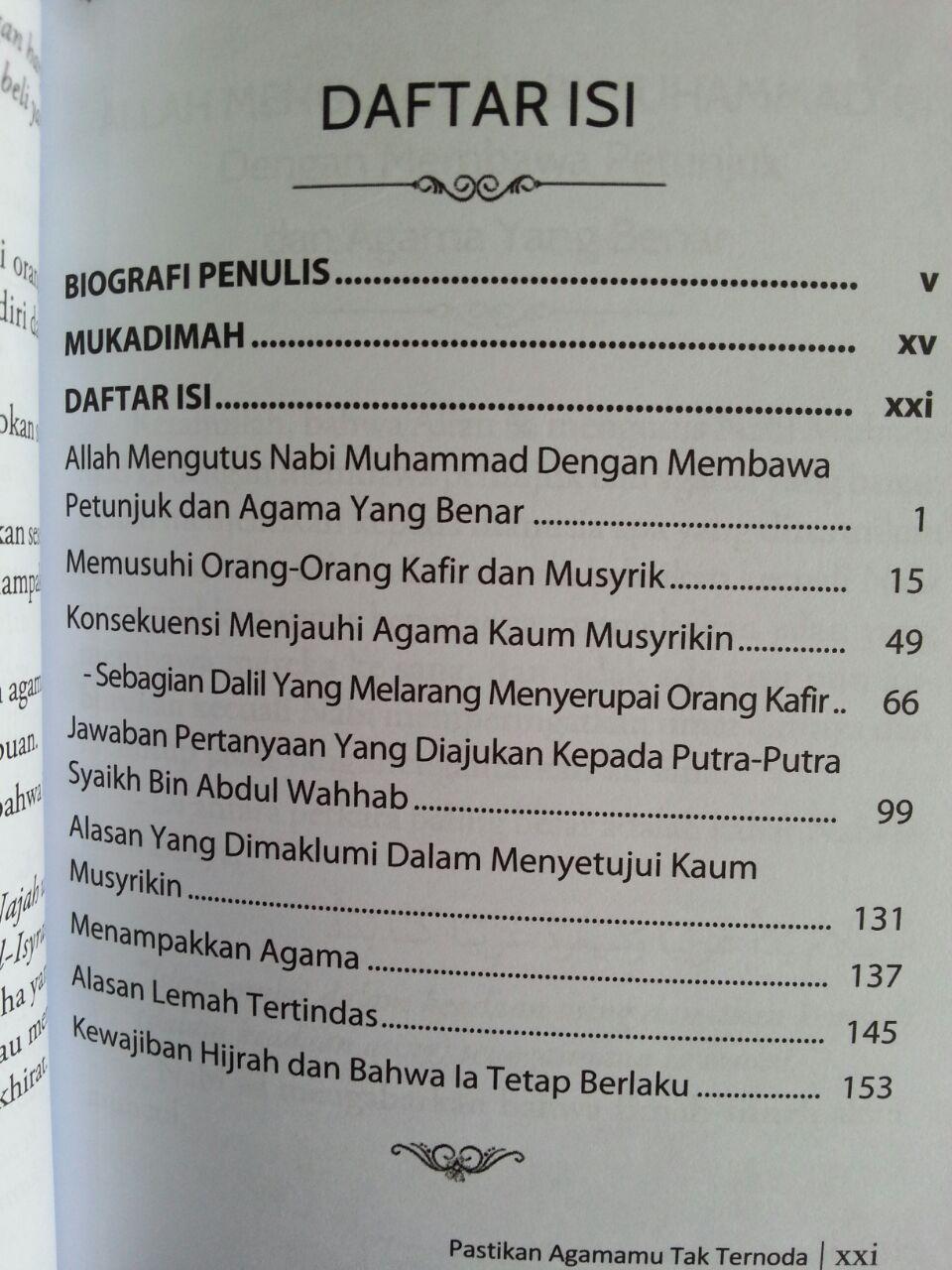 Buku Pastikan Agamamu Tak Ternoda isi 2