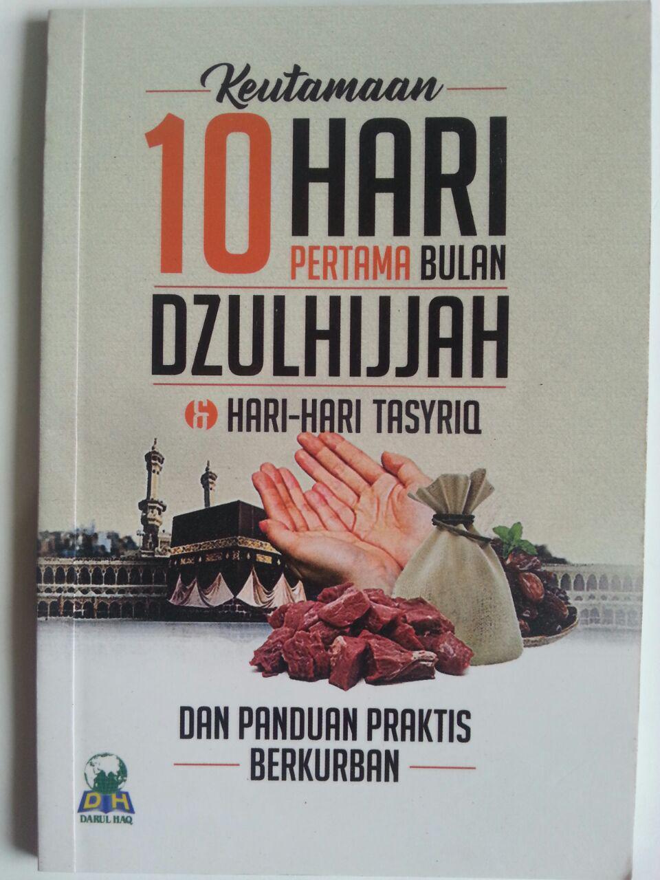 Buku Saku Keutamaan 10 Hari Pertama Bulan Dzulhijjah Tasyriq Kurban cover 2