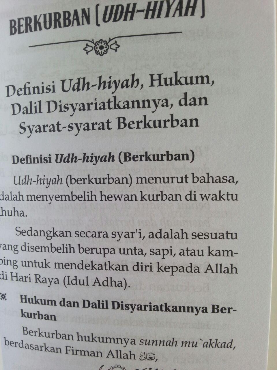 Buku Saku Keutamaan 10 Hari Pertama Bulan Dzulhijjah Tasyriq Kurban isi 3